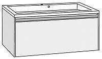 Тумба под умывальник Riho Eifel 80 / F1EI10806000BLKBLK -