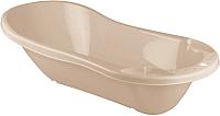 Ванночка детская Пластишка С клапаном для слива воды 431301307 (бежевый) -