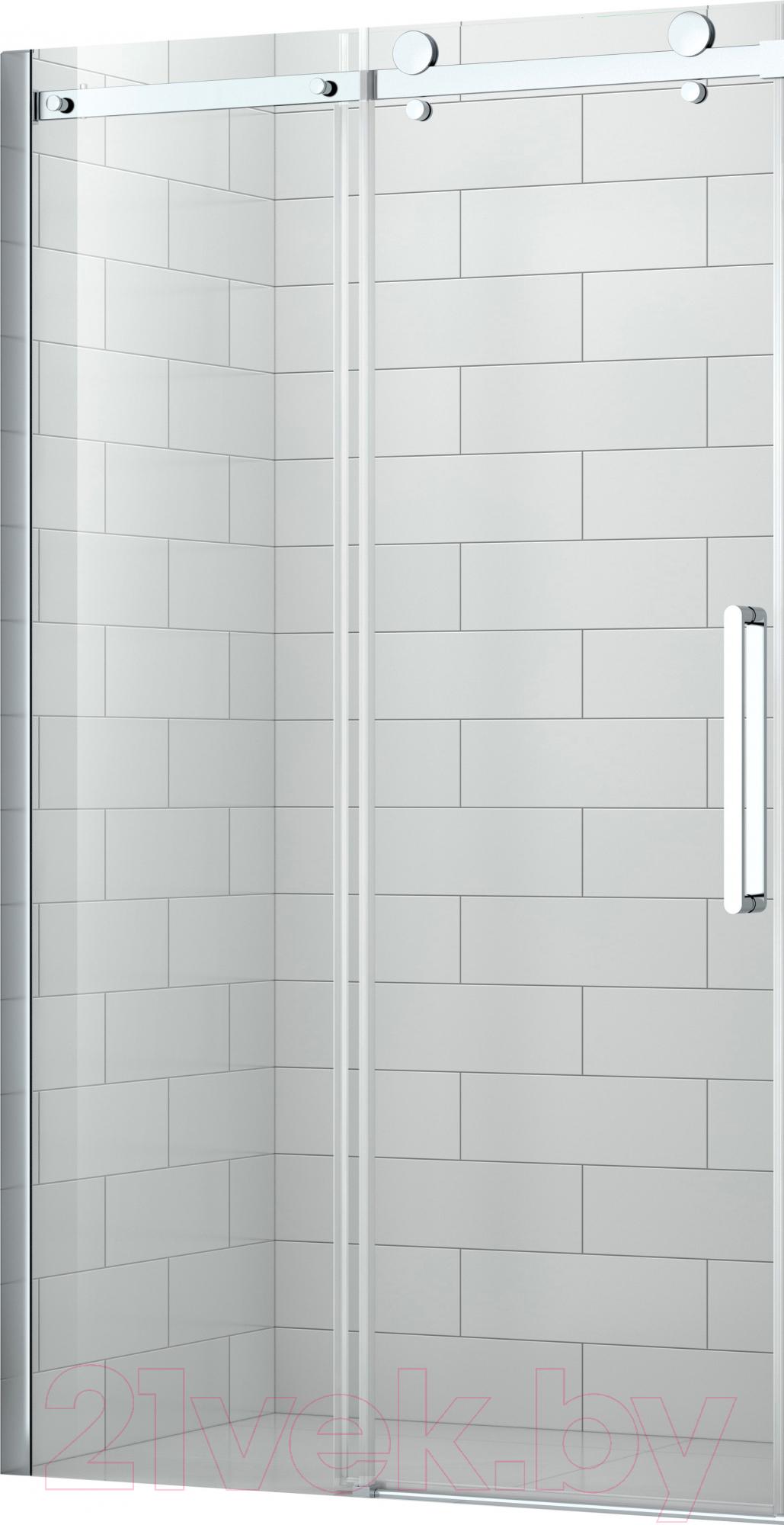 Купить Душевая дверь Roltechnik, SaniPro OBZD2/120 (хром/прозрачное стекло), Чехия
