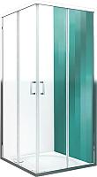 Душевой уголок Roltechnik Lega Line LLS2/120x90 (хром/прозрачное стекло) -