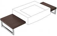 Столешница для тумбы Villeroy & Boch Pure Basic 8521-04-C9 -