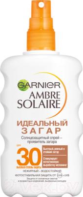 Спрей солнцезащитный Garnier Ambre Solaire идеальный загар SPF 30 (200мл)