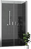 Душевая дверь Roltechnik Lega Lift Line LZCN2/90 (хром/прозрачное стекло) -