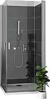 Душевая дверь Roltechnik Lega Lift Line LZCO1/100 (хром/прозрачное стекло) -