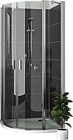 Душевой уголок Roltechnik Lega Lift Line LZR2/80x80 (хром/прозрачное) -
