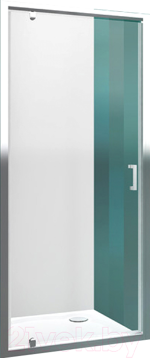 Купить Душевая дверь Roltechnik, Lega Line LLDO1/80 (хром/прозрачное стекло), Чехия