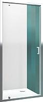 Душевая дверь Roltechnik Lega Line LLDO1/80 (хром/прозрачное стекло) -