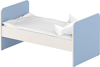 Односпальная кровать Славянская столица ДУ-КО12 (белый/синий) -