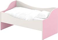 Односпальная кровать Славянская столица ДУ-КЛ12 (белый/розовый) -