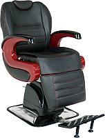 Кресло парикмахерское Kuasit Ku 470 (черный/бордовый) -