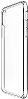 Чехол-накладка Case Better One для iPhone X (прозрачный, глянец) -