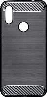 Чехол-накладка Case Brushed Line для Redmi 7 (черный, матовый) -