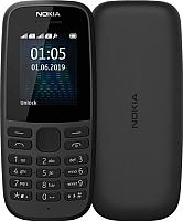 Мобильный телефон Nokia 105 Dual 2019 / TA-1174 (черный) -
