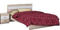 Каркас кровати Заречье Ника Н19 160x200 (белый/дуб сонома) -