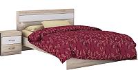 Каркас кровати Заречье Ника Н19б 120x200 (белый/дуб сонома) -