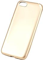 Чехол-накладка Case Deep Matte для Y5 Prime 2018 / Honor 7A (золото) -
