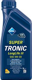 Купить Моторное масло Aral, SuperTronic LongLife III 5W30 / 15C319 (1л), Германия