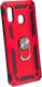 Чехол-накладка Case Defender для Galaxy A20 / A30 (красный, матовый) -