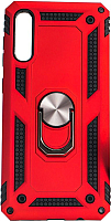 Чехол-накладка Case Defender для Galaxy A50 (красный, матовый) -