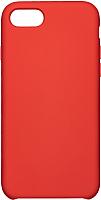 Чехол-накладка Case Liquid для iPhone 7 / 8 (красный, матовый) -