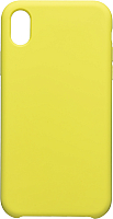 Чехол-накладка Case Liquid для iPhone XR (блестящий желтый) -