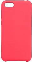 Чехол-накладка Case Liquid для Y5 Prime 2018 / Honor 7A (красный, матовый) -
