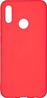 Чехол-накладка Case Matte для P Smart 2019 (красный, матовый) -