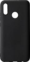 Чехол-накладка Case Matte для P Smart 2019 (черный, матовый) -
