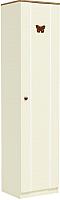 Шкаф-пенал Заречье Юниор Ю3 (weave светлый/ясень шимо тёмный) -