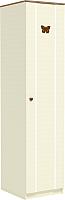 Шкаф-пенал Заречье Юниор Ю4 (Weave светлый/ясень шимо тёмный) -
