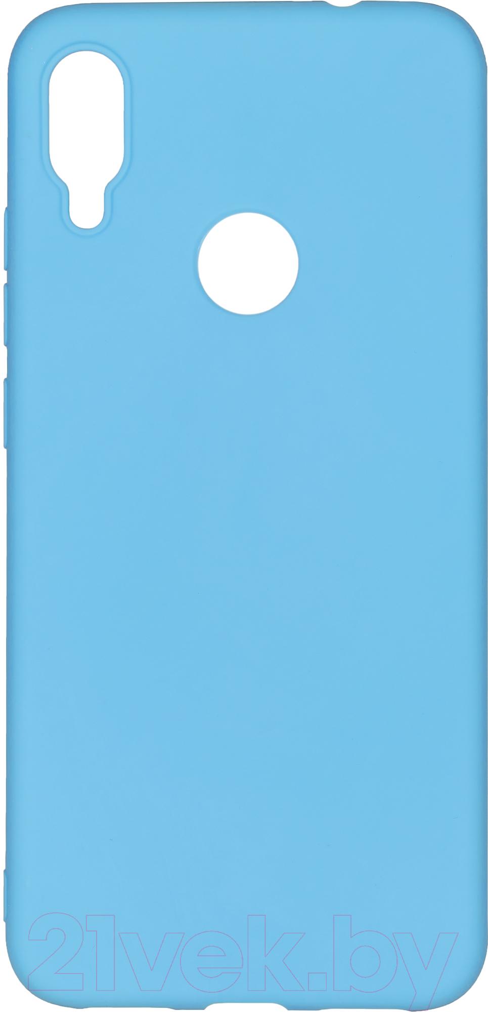 Купить Чехол-накладка Case, Matte для Redmi Note 7 (синий, матовый), Китай, полиуретан