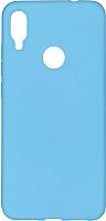 Чехол-накладка Case Matte для Redmi Note 7 (синий, матовый) -