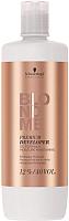 Эмульсия для окисления краски Schwarzkopf Professional BlondMe Premium Developer Oil Formula Moisture Maintaining 12% (1л) -