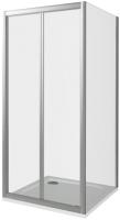 Душевой уголок Good Door Infinity SD-100-C-CH + SP-100-C-CH -