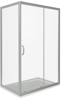 Душевой уголок Good Door Infinity WTW-130-C-CH + SP-100-C-CH -