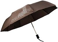 Зонт складной Капялюш 18С3-01005 (коричневый) -