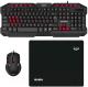 Клавиатура+мышь Sven GS-9200 (черный, с ковриком) -