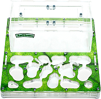 Муравьиная ферма AntHouse Bio Plus стартовый комплект (Green) -