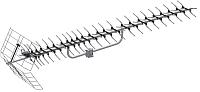 Цифровая антенна для тв Rexant 34-0415-1 -