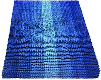 Коврик для ванной Shahintex Multimakaron 60x90 (синий) -