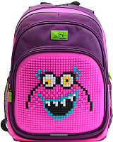 Школьный рюкзак 4ALL Kids / RK61-01N (фиолетовый/розовый) -