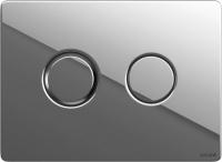 Кнопка для инсталляции Cersanit Accento Circle P-BU-ACN-CIR-PN/Cg -