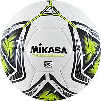 Мяч для футзала Mikasa Regateador3-G (размер 3, белый/черный/зеленый) -