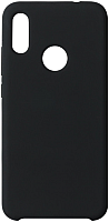 Чехол-накладка Volare Rosso Rosso Suede для Redmi Note 7 / Note 7 Pro (черный) -