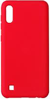 Чехол-накладка Volare Rosso Rosso Suede для Galaxy A10 (2019) (красный) -