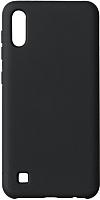 Чехол-накладка Volare Rosso Rosso Suede для Galaxy A10 (2019) (черный) -
