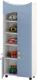 Шкаф игровой Славянская столица ДУ-СМ21 (белый/синий) -