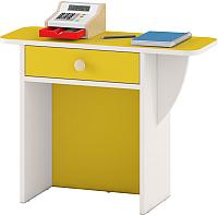 Стол для детского сада Славянская столица ДУ-СМ27 (белый/желтый) -