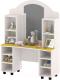 Стол для детского сада Славянская столица ДУ-СИ11 (белый/желтый) -