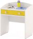 Стол для детского сада Славянская столица ДУ-СИ13 (белый/желтый) -